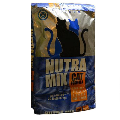 Nutra Mix Cat Seafood  9,07кг - корм для кошек с морепродуктами