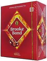 Чай чёрный Брук Бонд 100п