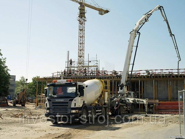 заказать бетон и бетононасос