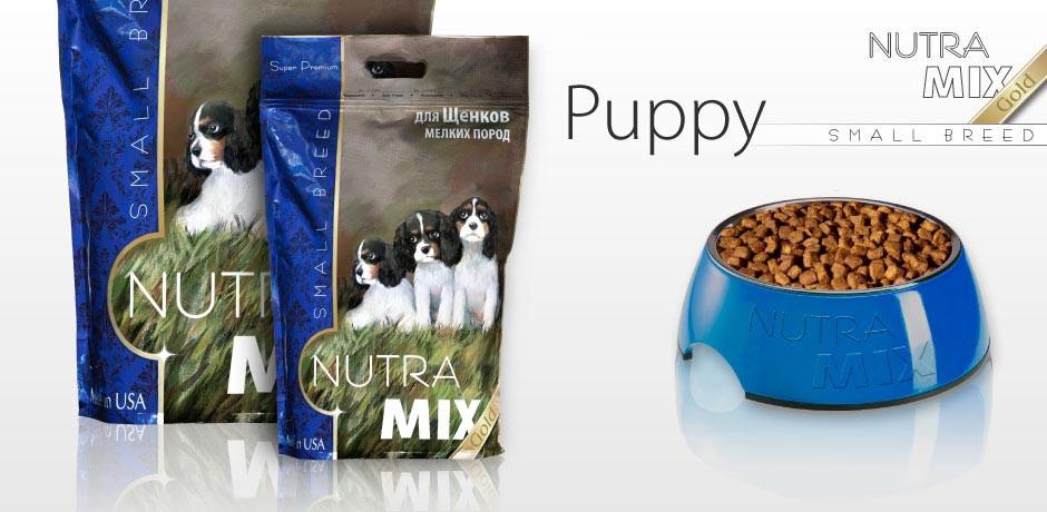 Nutra Mix Gold Small Breed Puppy Сухой корм для щенков мелких пород 3кг