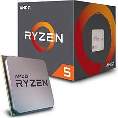 Процессор AMD Ryzen 5 2600X 3,6 ГГц, 16 МБ, BOX Wraith Spire (YD260XBCAFBOX)