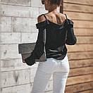 Блузки свободного кроя с открытыми плечами, фото 6