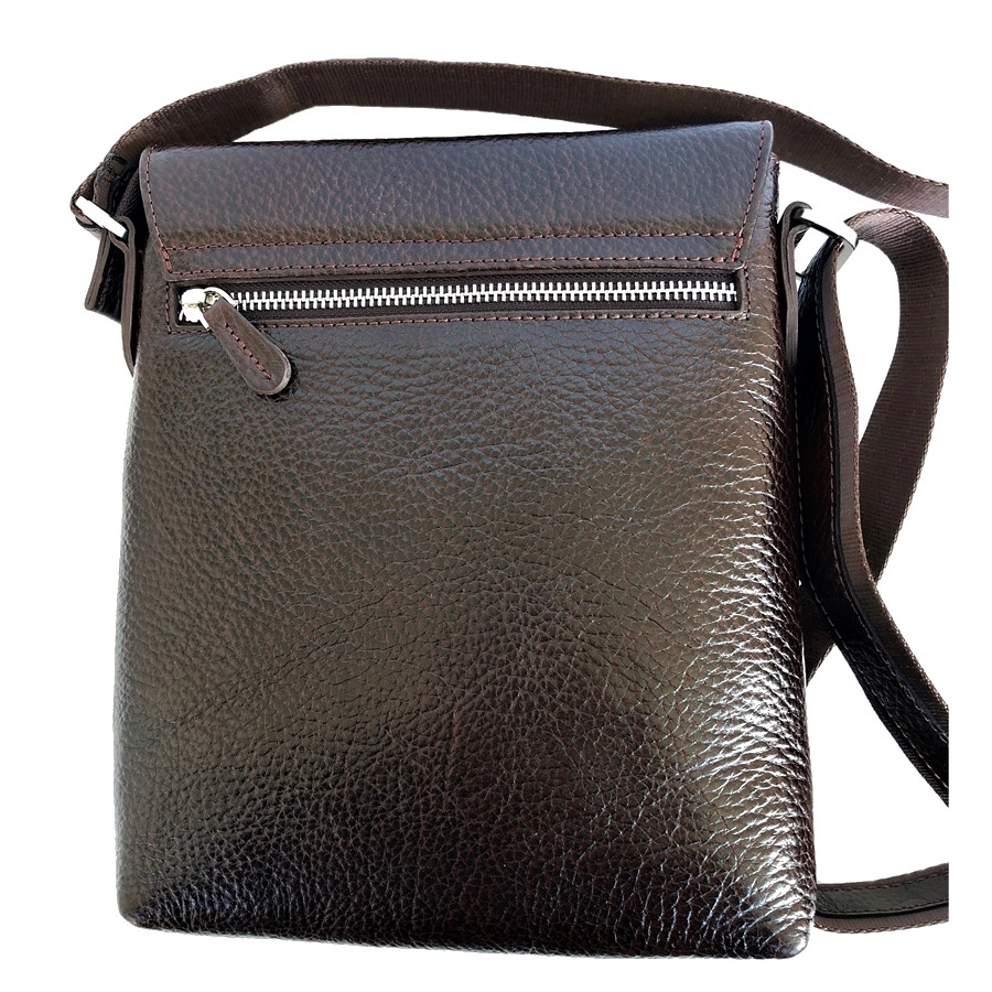bc4ebeaef3d8 Мужская сумка через плечо кожаная Desisan 349-019 мессенджер коричневый,  цена 2 322 грн., купить в Киеве — Prom.ua (ID#834799318)
