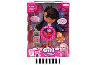 "Кукла с аксесс.""Girl Каibib"" в кор. 27*35,5*11,5см /24-2/(BLD111-2)"