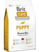 Brit Care Puppy All Breed Lamb & Rice 3кг- корм для щенков с ягненком