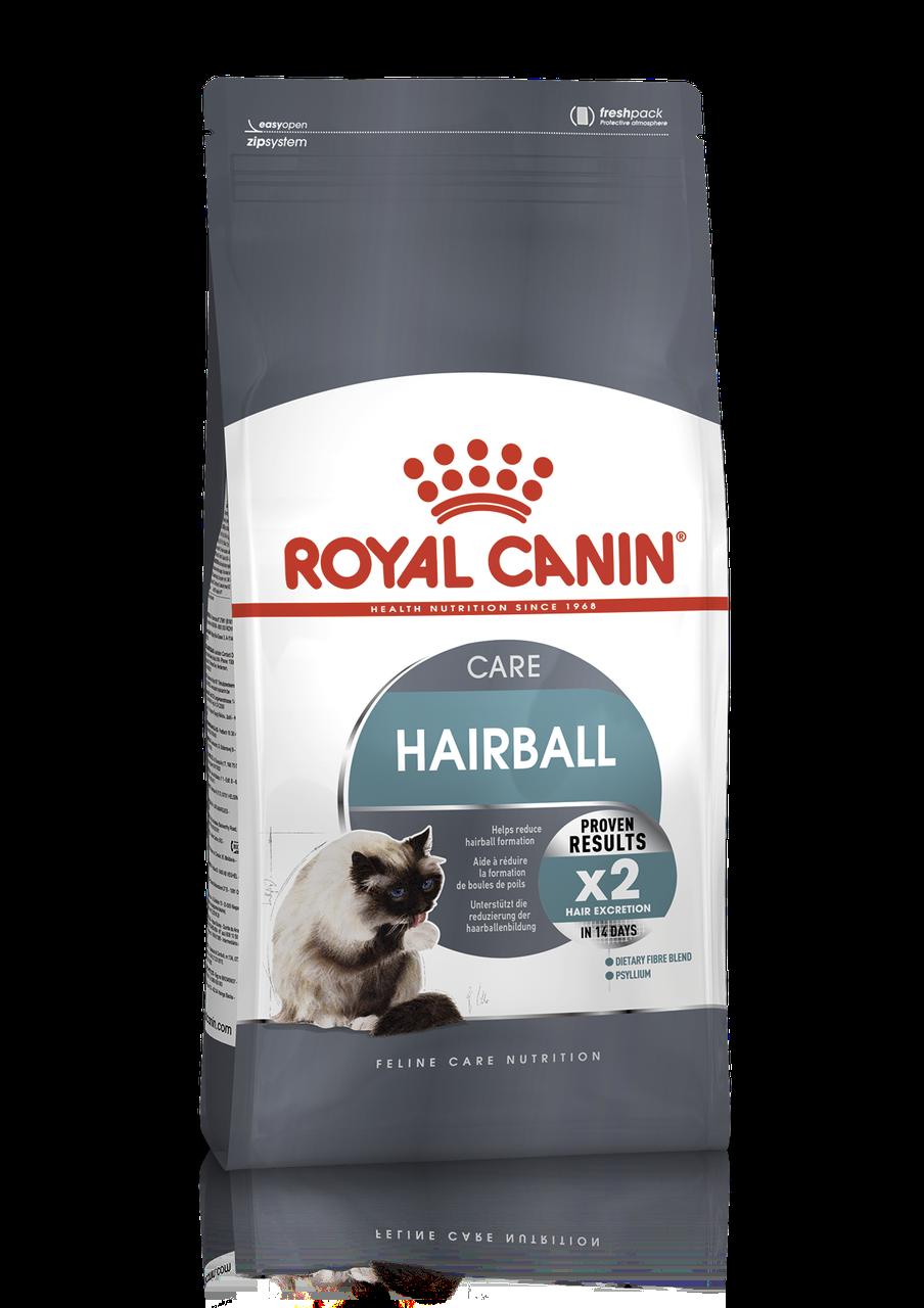 Royal Canin Hairball Care 2кг-корм для кошек с эффектом выведения шерсти