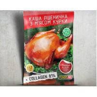 Заменитель питания каша пшеничная со вкусом курицы