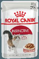 Royal Canin Instinctive (кусочки в соусе) 85г*12шт - паучи для кошек старше 1 года