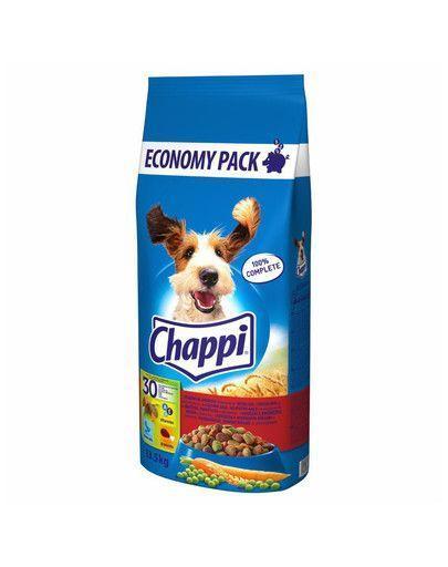 Chappi с говядиной, птицей и овощами  13,5 кг-корм для собак