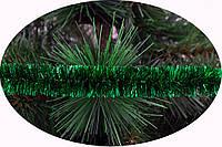 """Мишура Новогодько 25 мм.""""Флекс"""" Зеленый металлик 2 метра"""