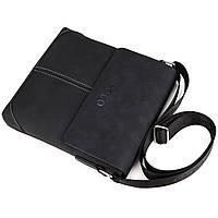 Мужская сумка Polo Vicuna черная, фото 4