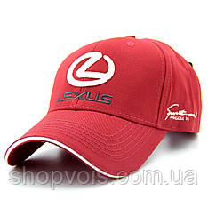 Кепка Lexus А56 Красная