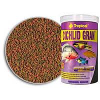 Tropical Cichlid Gran 1л/550г -  корм для кормления аквариумных рыб (60456)