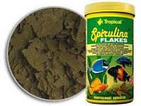 Tropical Spirulina Flakes 1л -корм для растительноядных и всеядных рыб (77136)
