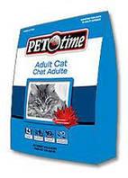 Pet Time Adult Cat Food  7кг - сухой корм для взрослых кошек