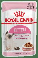 Royal Canin Kitten Instinctive (кусочки в соусе) 85г*12шт-паучи для котят от 4 до 12 месяцев