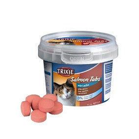 Trixie TX-42737 Salmon Tabs 75гр -  лакомство для кошек с лососем