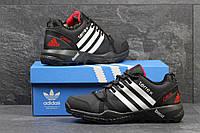 Кроссовки зимние AdidasTerrex черные с белым,на меху 46р, фото 1