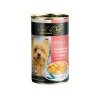 Edel Dog консерва для собак Три вида мяса в соусе, 1200г