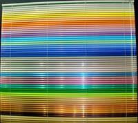 Жалюзи горизонтальные цветные
