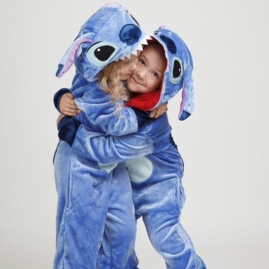 Детский кигуруми стич синий krd0045