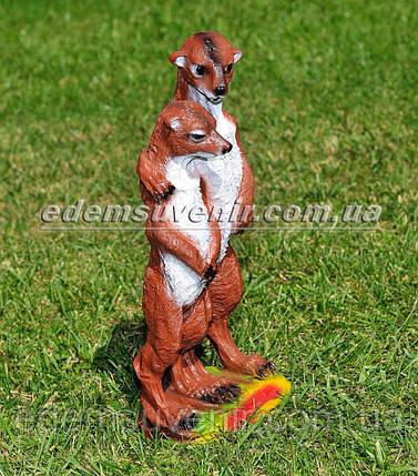 Садовая фигура Суслики парочка, фото 2