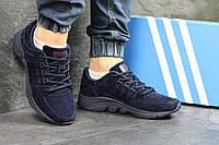 Кроссовки мужские Adidas Equipment ADV 91-17 замшевые, темно сине 41