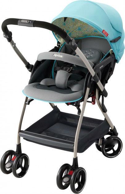 Детская коляска прогулочная Aprica Optia AB  цвет голубой (2011697)
