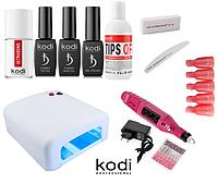 Стартовый набор Kodi Professional для гель-лака с Лампой UV 36 ватт