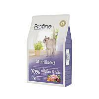Profine Sterilised Chicken and Rice 10кг-для стерилизованных и кастрированных кошек и котов ( курица