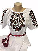 """Жіноча вишита сорочка (блузка) """"Френсіс"""" (Женская вышитая рубашка (блузка) """"Френсис"""") BI-0026"""