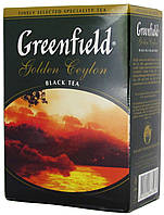 "Чай чёрный Greenfield ""Голден цейлон"" 100г."