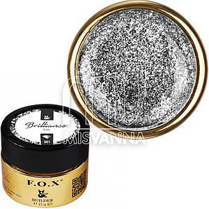 Жидкий гель F.O.X Brilliance №01, 5 мл серебро