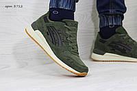 Кроссовки мужские Asics GEL LYTE III замшевые,зеленые, фото 1