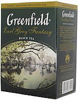 """Чай чорний Greenfield """"ЕрлГрейФентези""""  670 лист.картон 100гр."""