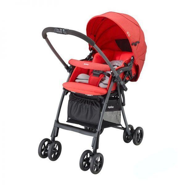 Детская коляска прогулочная Aprica Luxuna Light CTS Cheerful red (92977)