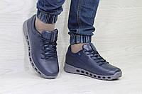 Мужские кроссовки Ecco Biom,темно синие 44р, фото 1