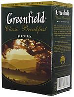 """Чай чёрный Greenfield """"КласікБрекфест"""" 100г."""