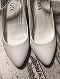 Весільні білі туфлі, фото 2