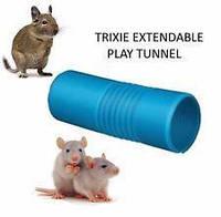Trixie TX-62796 выдвижной игровой туннель для грызунов,крыс,хорьков  Ø 10 × 19/75 см