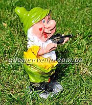 Садовая фигура Гномы музыканты, фото 3