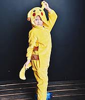 Детский кигуруми пикачу (покемон) ktv0074