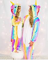 Радужный единорог пижама кигуруми tkrd0024