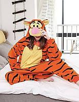 Пижама кигуруми тигр взрослая krd0053, фото 1