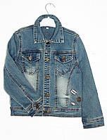 Куртка джинсовая на мальчика от 3 до 13 лет