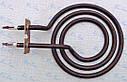 Тэн спиралевидный Ø125мм / 1100 Вт с удлиненным выходом  на планке для китайских и турецких электроплит, фото 6