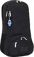 Рюкзак для городской (с отделением для ноутбука, аудио и USB) Bagland GRANITE 23 л. черный (00135169)