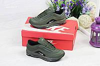 Модные подростковые кроссовки Nike Air Max 87,зеленые, фото 1