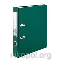 Сегрегатор (папка-регистратор) Delta by Axent, темно-зеленая 5 см.
