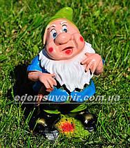 Садовая фигура Белоснежка и семь гномов, фото 3